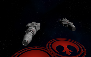 Rebel Corellian DP Series Corvettes 03 by Majestic-MSFC