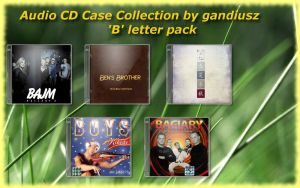 CD Case Collection 'B' by gandiusz