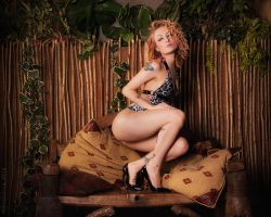 Jungle Pixie by robgolding