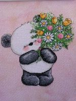 Panda by ColourCascadeFabrics