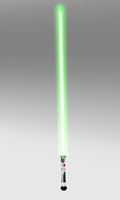 Lightsaber with blade by Kelo821