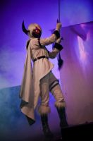 Absol Cosplay - On Stage by diriagoly