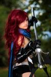 Fairy Hunter - Erza Knightwalker by AnitramNoriko