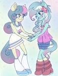 Equestria Girls: Duet by Opallene