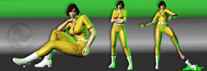 April O'Neil Classic MeshMod - WIP by jormunartserpent