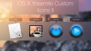 OSX Yosemite Custom Icons V2 by BAMgraphics