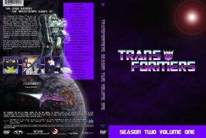 TRANSFORMERS S2 V1 CUSTOM DVD COVER by SUPERMAN3D