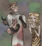 Dr Charles and Nora Montgomery by SmudgeThistle