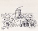 Dark Souls - Solaire Sunflowers by Hewison