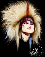 X Japan: hide by Stetchi