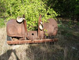 Rusty Car Frame 2 by Altaria13-Stock