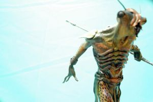 Creature maquette by Cleytonoliveira