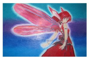 Red Fairy by Bio-Electric-Anemone