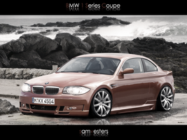 BMW 1 Series Coupe by Ophideus