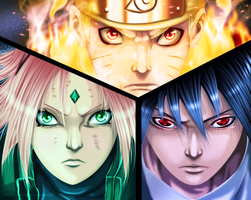 Team 7 by uchiha-itasuke