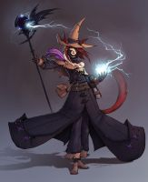 Black Mage by xxSilentSonata