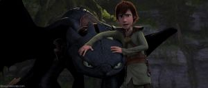 How To Train Your Dragon - Toothless + Hiccup by DashieSparkle