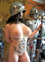 Nude Girl with Sword by HotMedievalBabes