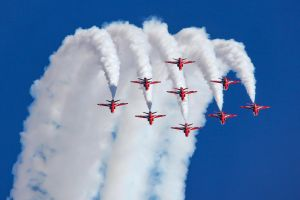 The Red Arrows by Daniel-Wales-Images