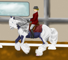 Cairo GVA dressage by patchesofheaven74