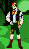 Monster High Scary Tales: Arthur as Fearnocchio by Hellboy777Kratos
