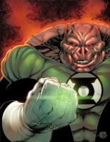Kilowog by Joe Prado by RyanLord