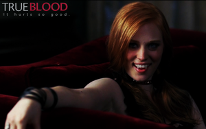 True Blood - Jessica Fangs by Morgadu
