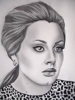 Adele Closer by Pinkeyesky