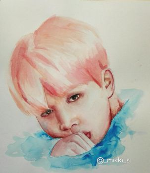 Jimin BTS Fan Art by S-Mikki