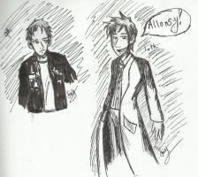 Doctor Who-Sketches by FairyKats