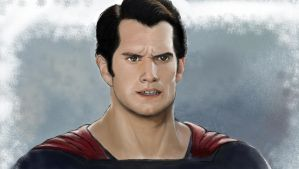 Man of Steel Henry Cavill by GamerZzon