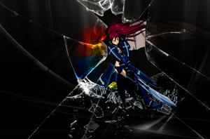 Erza by AbirAhmed
