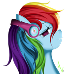 Rainbows's Headphones by Winterrrr