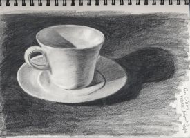 Cup and Saucer by timluv