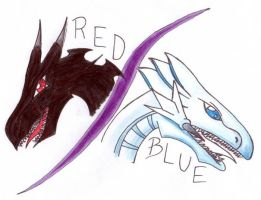 Red and Blue by ancient-secrets