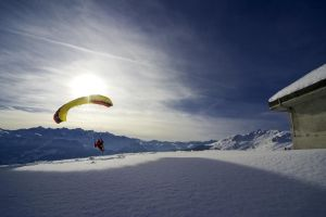 Winter Parachuter 15734560 by StockProject1