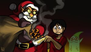 Phelous - Satan Claus by AndrewDickman