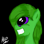 Green Pony by MLOpl