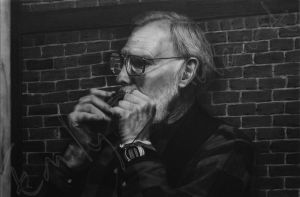 Ralph - Charcoal Dry-Painting - SOLD by TreeClimber