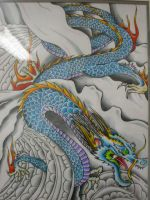 Dragon drawing by ritch-g