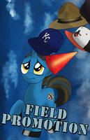 Field Promotion Badge by drawponies