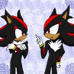 CP: Shadow VS Shadow by sira-the-hedgehog
