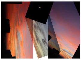 simple today evening sky abstraction 2 by creapicform