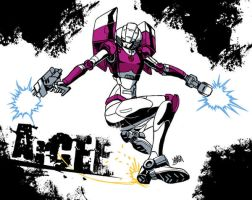 Grungepop Arcee by neurowing