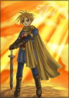 Golden Sun: Isaac by Nacrym