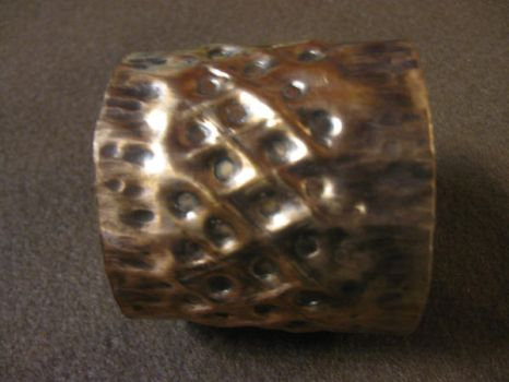 Repousse Cuff by Shananagins1974