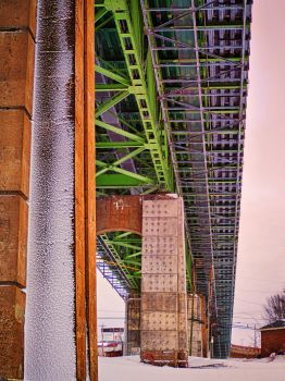 Halifax Dartmouth Bridge by kensdigital