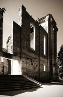 Saint Boniface Cathedral 3 Picture Pano by Joe-Lynn-Design