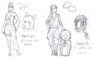 Next Naruto OCs - Sketches by afo2006