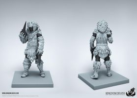 White Lion Armor Kit (male) 02 by HecM